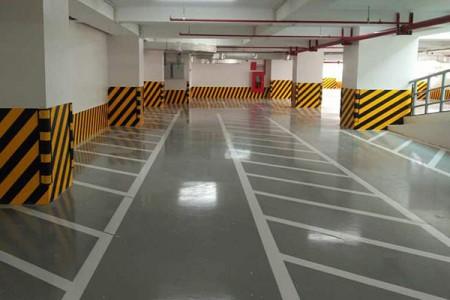 Quy trình thi công sơn epoxy sàn tầng hầm tòa nhà