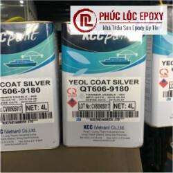 Sơn Chịu Nhiệt 600 ĐộC Epoxy KCC QT606